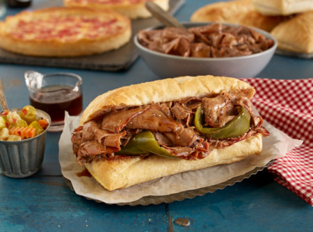 Portillo's Italian Beef Kit & 2 Pizzas