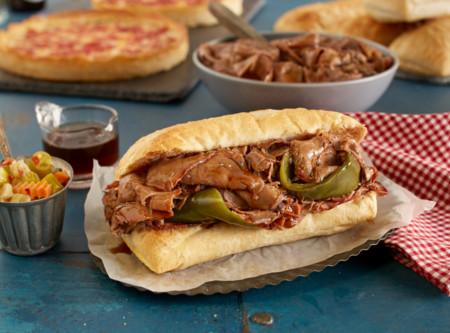 Portillo's Beef & Lou Malnati's Pizza Combo