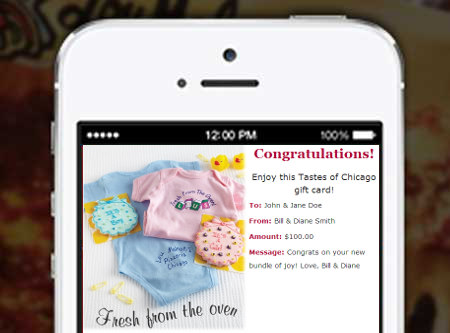 New Baby Email Gift Cards