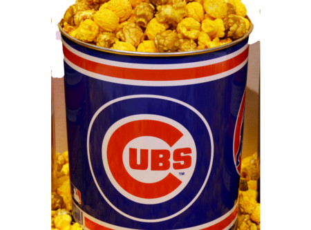 Nuts on Clark Cubs Popcorn Gallon