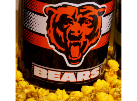 Nuts on Clark Bears Popcorn Gallon