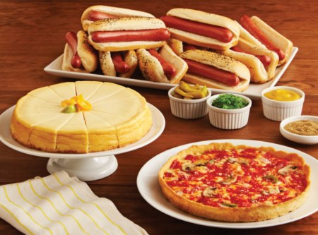 Pizza / Hot Dogs / Cheesecake Combo