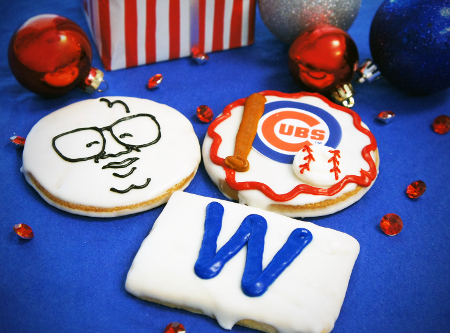 Chicago Cubs Cookie Trio Add-on