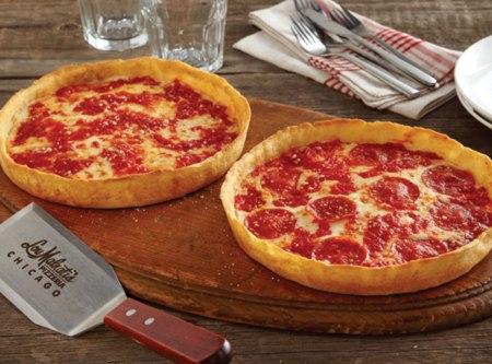 2 Lou Malnati's Deep Dish Pizzas